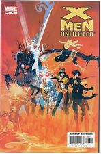 X-Men Unlimited #43, Chris Claremont, cover by Bill Sienkiewicz 2003