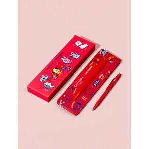 CARAN D'ACHE + LINE FRIENDS 849 Ballpoint Pen Series BT21 Edition