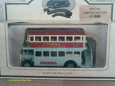Lledo SP15004a, AEC Regent Bus D/D, Generale, W Whittaker West Bromwich, Hill Top