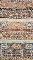 Color-full Geometric Quilt 5x7 Moroccan Oriental Area Rug Hand-made Wool Tribal