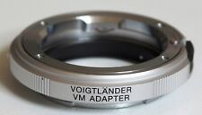 Voigtlander VM to Sony E adapter, Japan | Leica M mount Sony a7