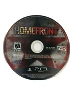 Homefront Sony PlayStation 3 PS3  Game Disc Only Tested & Working