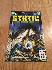 STATIC Comic - No 2 - Date 07/1993 - DC Comics