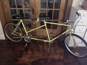 "Mint Vintage 1970 Velo Schauff Fahrrad 26"" Tandem Bicycle German Rare Steel -Wow"