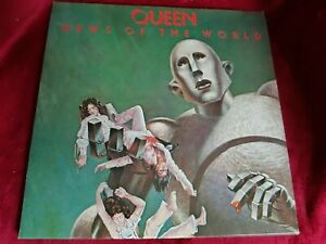 QUEEN NEWS OF THE WORLD, RED INNER SLEEVE  EMA 784 NEAR MINT CONDITION