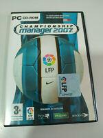 Championship Manager 2007 - Set para PC Cd-rom - 3T