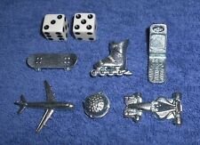 Monopoly Tokens & Dice Set ~ Electronic Banking Board Game Pieces Lot Cell Phone
