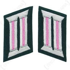 Ejército Alemán Oficial Parches PANZER ROSA - Ww2 Repro Alemania Insignia NUEVO