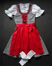 Dirndl Girl German  Dress + Blouse+Apron+ Socks 5-6 years