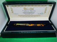 Onoto Magna Tortoiseshell limited edition 18 Ct Medium No.7 nib fountain pen