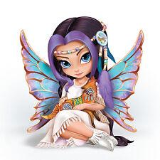 Moonchaser Native Fairy Figurine Jasmine Becket Griffith Bradford Exchange
