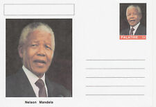 CINDERELLA - 3938 - NELSON MANDELA featured on fantasy Postal Stationery card