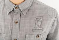 Genuine HARLEY DAVIDSON men's Short Sleeve Shirt Size L Grey