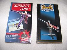 Airgun Designs Automag Minimag Paintball Gun Factory and Tech Trix Video Vhs Mag