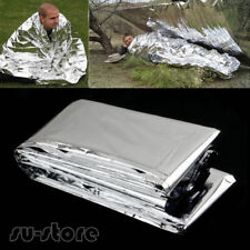 1x Outdoor Emergency Solar Blanket Survival Safety Insulating Mylar Thermal SUST