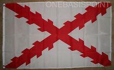 3'x5' Spanish Ensign Flag Cross of Burgundy Spain Navy Royal Military Naval 3X5