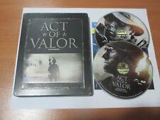 Act of Valor (Blu-ray/DVD) FUTURESHOP EXCLUSIVE STEELBOOK, VG+