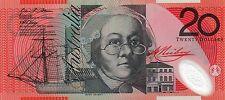 AUSTRALIA $20 Dollars 2007 Stevens/Henry P59e UNC Banknote