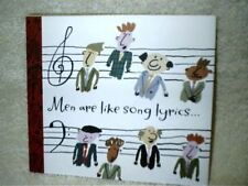 Hallmark Men Are Like Card 4 Song Music CD Kiss Him Goodbye No Way To Treat Lady