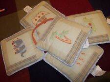 COCALO Two by Two Animals Noah's Ark Plush Wall Hangings Decor Set crib baby