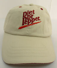 DIET DR PEPPER HAT CAP ADJUSTABLE STRAPBACK BY CAPTIV8 PEPPER TIME ONE OF A KIND
