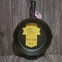 "New Lodge USA 8SK 2"" Deep, 10 1/2"" Cast Iron Skillet"