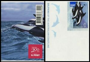 2009 Dolphins of the Australian Coastline - $1.35 Dolphin Sheetlet Single Stamp
