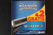 Wilkinson Sword Quattro 6-er Pack