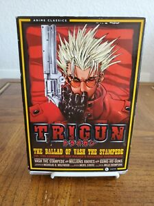 Trigun:The Complete Series (The ballad of vash Stampede)** Missing disc 1 **read