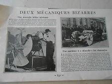 Nouvelle hélice Aérienne - Une machine à démolir les chaussées Image Print 1926