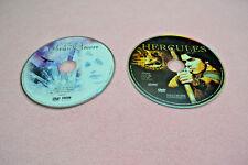LOT of 2 DVDs THE SNOW QUEEN Fairy Tale & Hallmark Entertainment HERCULES EUC