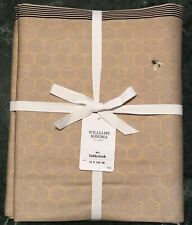 """William Sonoma Bee Tablecloth, Size 70"""" X 126"""" New, W/ $124.95 Tag"""