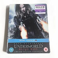 Underworld Blood Wars Blu-ray [UK] Ultra Limited Edition! 2,000 Print Run! NEW!