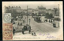 France - Type Sage et Blanc sur carte postale en 1903 réf F389