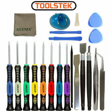 20 in 1 Mobile Phone Repair Tools Screwdrivers Set Kit For Cell Phones Tablet UK