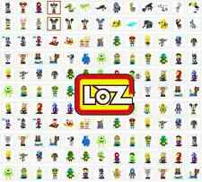Lots Of New LOZ Diamond Blocks iBLOCK FUN Mini Nano Assembly Toys Dolls With Box
