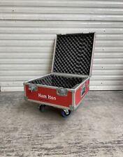 Case mit Rollen Koffer Flightcase Transport Box Kiste Hauben Case Party DJ Profi