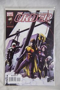 Marvel Comic The Order Issue #10
