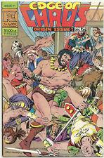 Pacific Comics Bronze LOT 5 Edge of Chaos 1 Somerset Holmes 1 3 Sun Runners #1 2