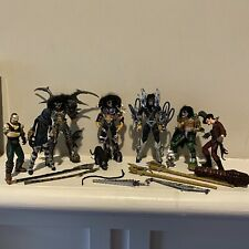 Lot of McFarlane Kiss Psycho Circus Figures Loose With Mixed Accessories