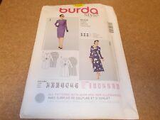 Burda Style Pattern 7127 Ms Dress w/Skirt, Neck & Sleeve Variations  Sz 8-20