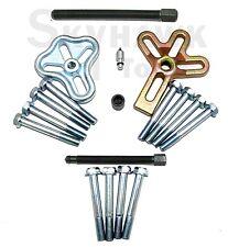 18-Pc 2-in-1 Harmonic Balancer Puller STEERING WHEEL and GEARS Yoke Crank New