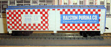 RALSTON PURINA - 40 FOOT REEFER BOX CAR - M.R.S. 4554 - HO SCALE