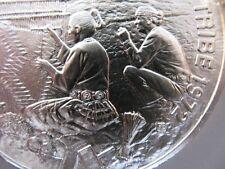 7/8 OZ. NAVAJO AMERICAN NATIVE INDIAN TRIBAL NATIONS ART COIN SILVER.999 +GOLD