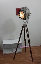 DESIGNER THEATER SPOTLIGHT TRIPOD FLOOR LAMP HOLLYWOOD LAMP LIGHT