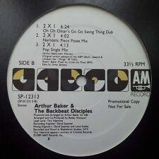 Arthur Baker & The Backbeat Disciples - 2 X 1 Vinyl 12 Inch 1989 A&M Hip Hop Sou