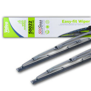 """NEW PAIR OF 22"""" OEM VALEO WIPER BLADES FITS CHRYSLER TOWN & COUNTRY 5099055AA"""
