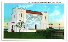 McClelland Music Stand, Eustis, FL Postcard