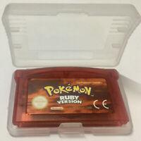 🔥 POKEMON EDICION RUBI EUR Español Gameboy Advance Nintendo GBA SP DS DS Nuevo