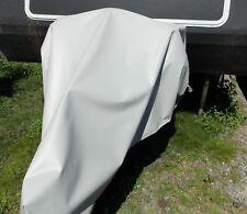 Caravan A frame full drawbar HITCH cover XLARGE PVC 900gsm VERY strong GREY